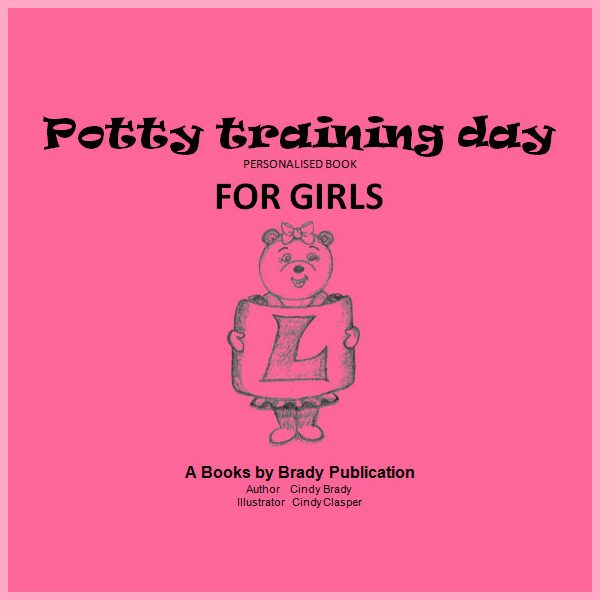 Potty Training Day Book for Girls